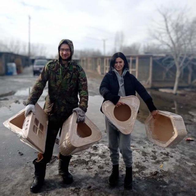 У Здолбунові волонтери допомоглі тваринам з Притулка (ФОТО)