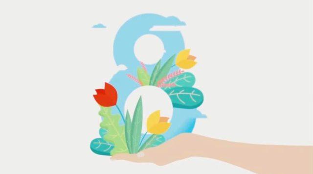 Чоловіки Рівненської ОДА оригінально прівіталі жінок зі святом весни (ВІДЕО)