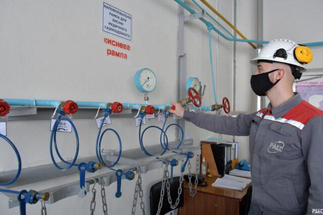Рівненська АЕС получила ліцензію на виробництво медичного кисня
