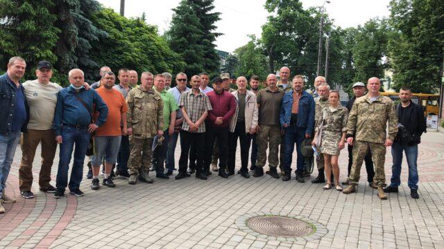 Міський голова Рівного затвердив склад Координаційної ради учасників бойових дій та сімей загиблих (ФОТО)